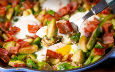 Paleo Brussel Sprouts Hash