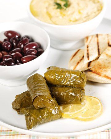 Brown Rice-Stuffed Dolmas