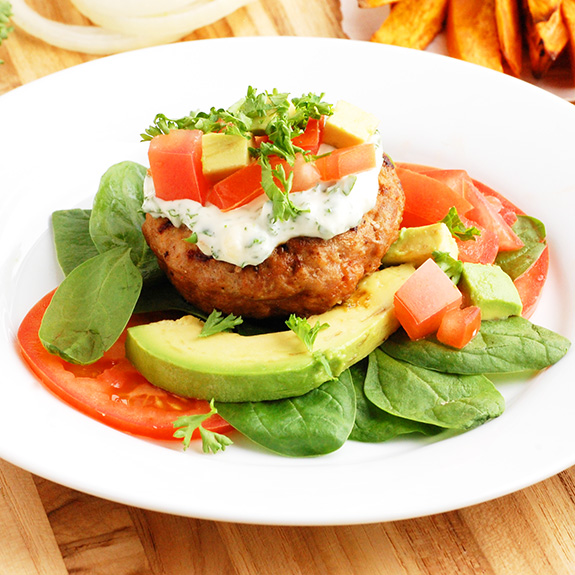 Paleo Turkey Burger