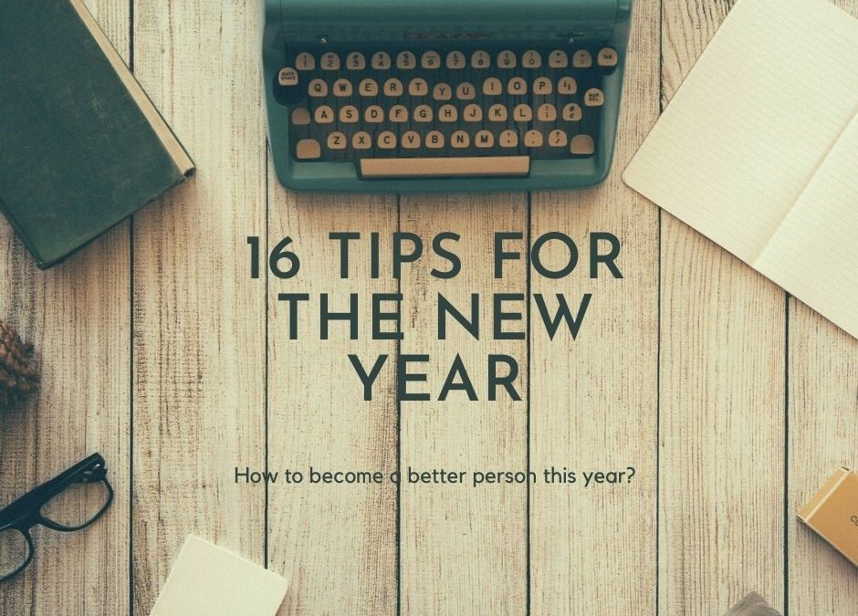 How to become a better person this year?